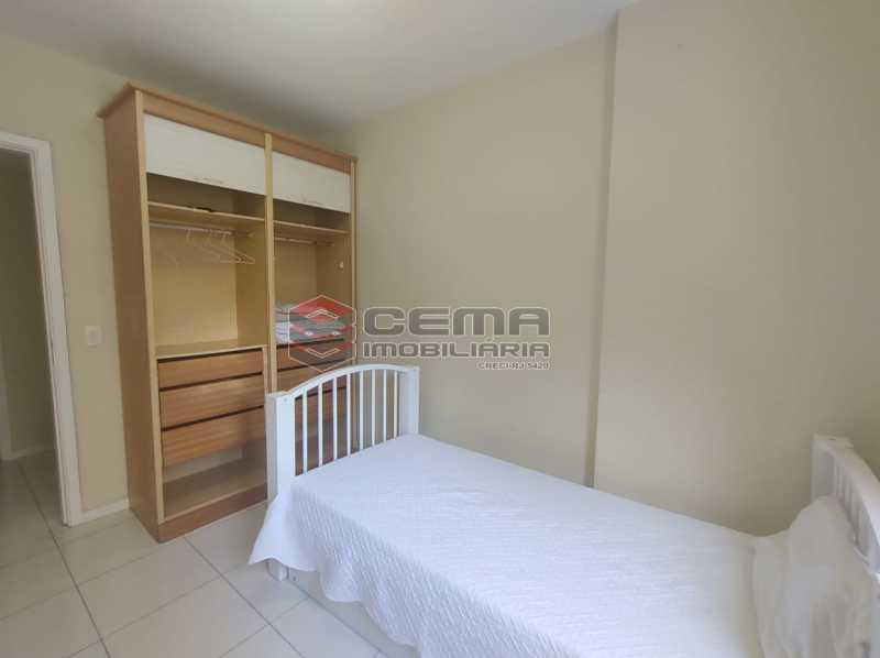 quarto2 - Excelente Apartamento MOBILIADO com 2 quartos, suíte e vaga em Botafogo - LAAP25099 - 17