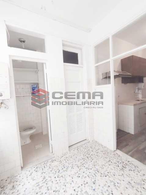 Dep. serviço 2 - Excelente apartamento de dois quartos no Flamengo. EXCLUSIVIDADE!! - LAAP25103 - 22
