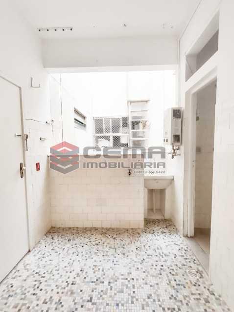 Dep. serviço 1 - Excelente apartamento de dois quartos no Flamengo. EXCLUSIVIDADE!! - LAAP25103 - 21