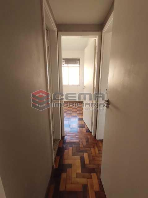 corredor - Excelente Apartamento 2 quartos com vaga próximo a Santa Ursula em Botafogo - LAAP25109 - 11