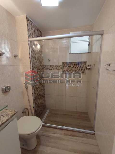 banheiro social - Excelente Apartamento 2 quartos com vaga próximo a Santa Ursula em Botafogo - LAAP25109 - 15