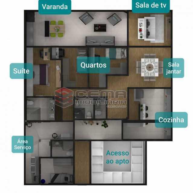 18b812c572aa5fc40f313bdb223670 - Cobertura 3 quartos à venda Botafogo, Zona Sul RJ - R$ 1.690.000 - LACO30298 - 8