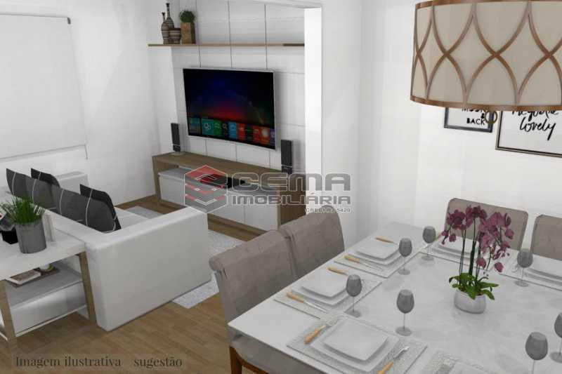 61e1b302f6f09167caf7ac1b7a740a - Cobertura 3 quartos à venda Botafogo, Zona Sul RJ - R$ 1.690.000 - LACO30298 - 4