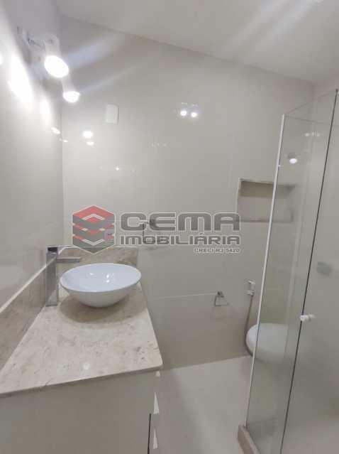 banheiro suite - Apartamento 2 quartos para venda e aluguel Copacabana, Zona Sul RJ - R$ 2.400 - LAAP25118 - 12