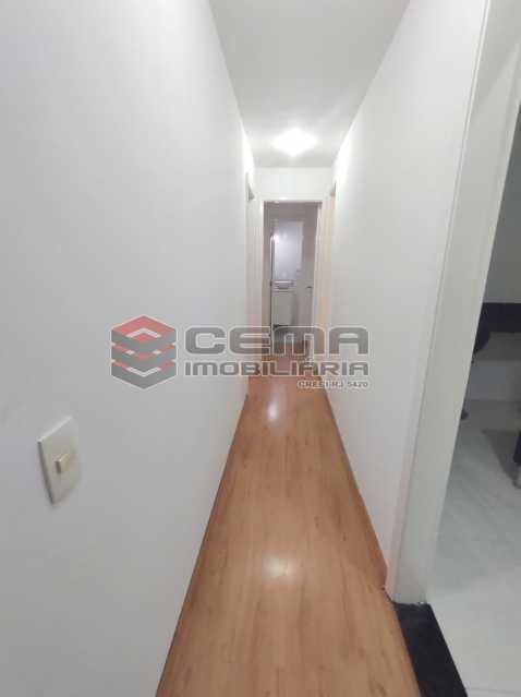 corredor - Apartamento 2 quartos para venda e aluguel Copacabana, Zona Sul RJ - R$ 2.400 - LAAP25118 - 8