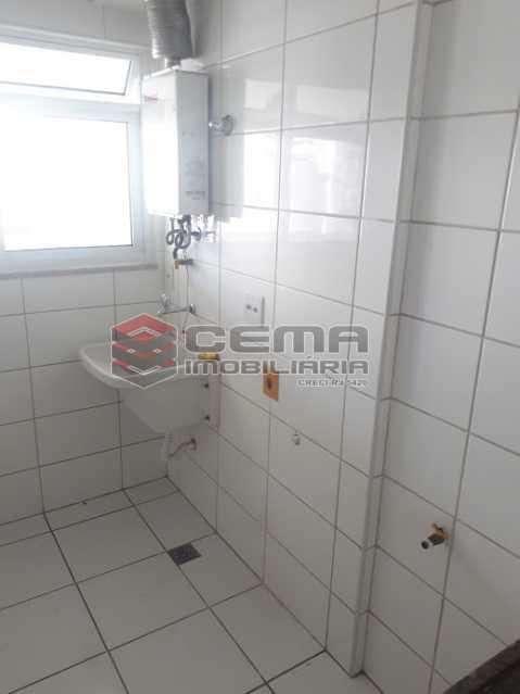 área de serviço - Apartamento 2 quartos para alugar Botafogo, Zona Sul RJ - R$ 3.900 - LAAP25121 - 18
