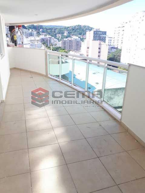 varanda - Apartamento 2 quartos para alugar Botafogo, Zona Sul RJ - R$ 3.900 - LAAP25121 - 1