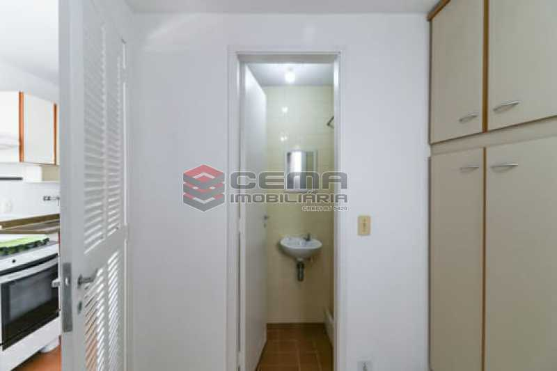 Banheiro de serviço. - Dois quartos com vaga Laranjeiras!!! - LAAP25146 - 18