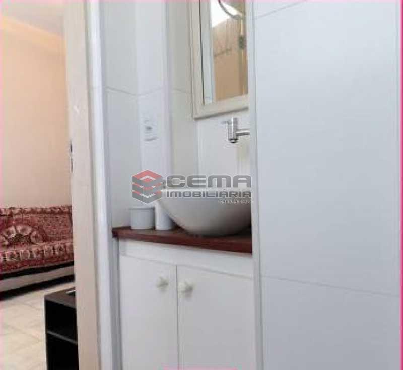 banheiro - Apartamento 1 quarto à venda Glória, Zona Sul RJ - R$ 450.000 - LAAP12852 - 8