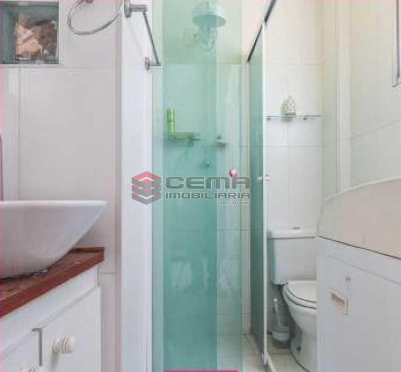 banheiro - Apartamento 1 quarto à venda Glória, Zona Sul RJ - R$ 450.000 - LAAP12852 - 7
