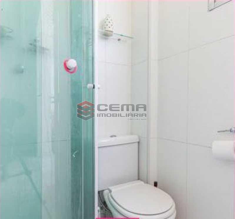 banheiro - Apartamento 1 quarto à venda Glória, Zona Sul RJ - R$ 450.000 - LAAP12852 - 6