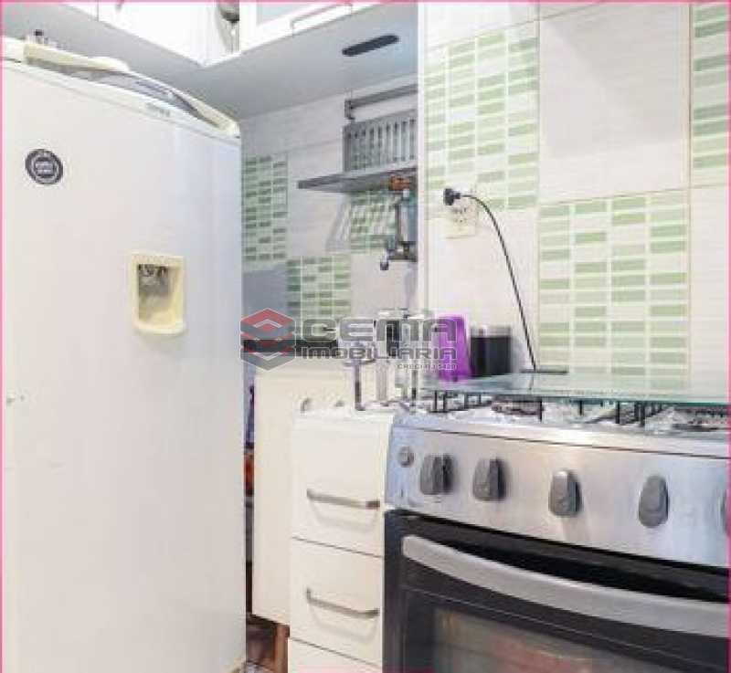 cozinha - Apartamento 1 quarto à venda Glória, Zona Sul RJ - R$ 450.000 - LAAP12852 - 9