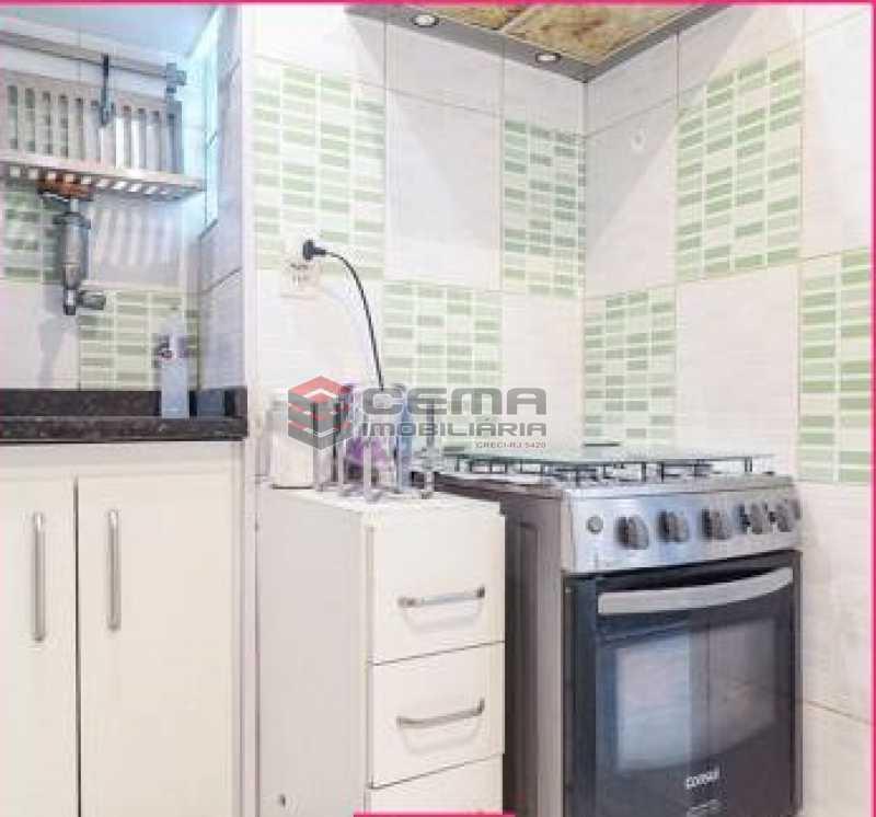 cozinha - Apartamento 1 quarto à venda Glória, Zona Sul RJ - R$ 450.000 - LAAP12852 - 10