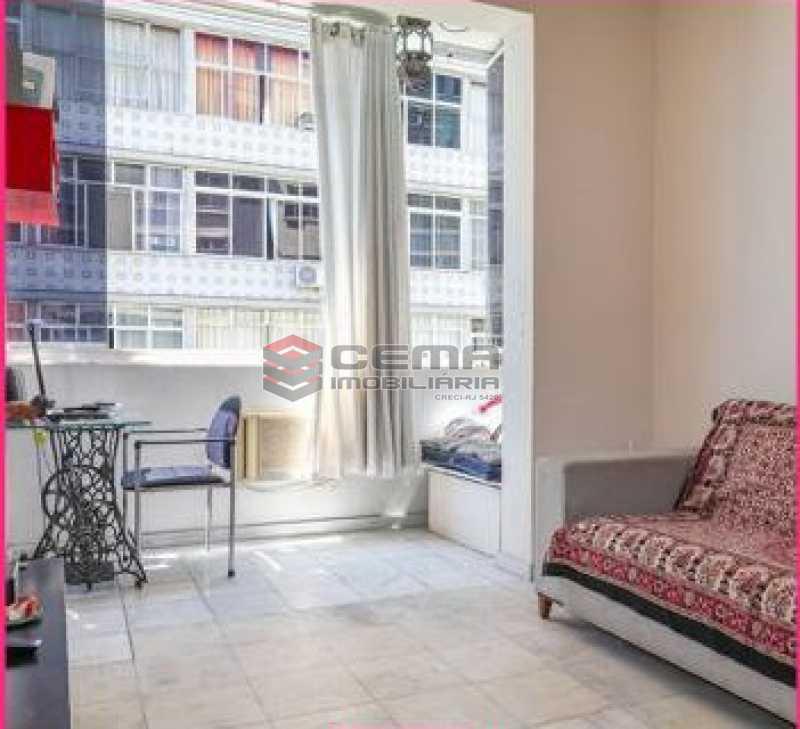 sala - Apartamento 1 quarto à venda Glória, Zona Sul RJ - R$ 450.000 - LAAP12852 - 1