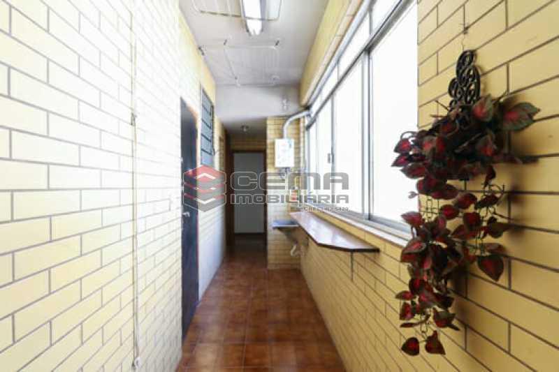 área de serviço - Apartamento 3 quartos à venda Flamengo, Zona Sul RJ - R$ 1.780.000 - LAAP34357 - 23