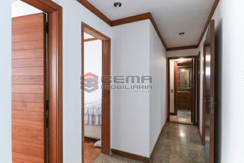 circulação - Apartamento 3 quartos à venda Flamengo, Zona Sul RJ - R$ 1.780.000 - LAAP34357 - 22