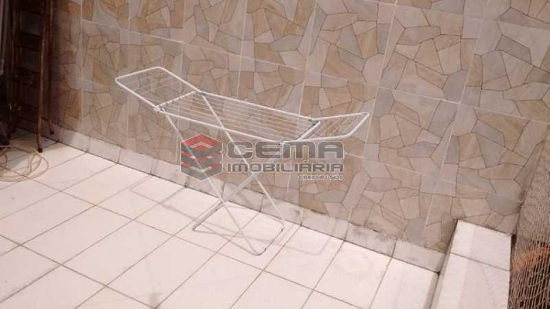 terraço - Casa de Vila 2 quartos à venda Cidade Nova, Zona Centro RJ - R$ 550.000 - LACV20056 - 12
