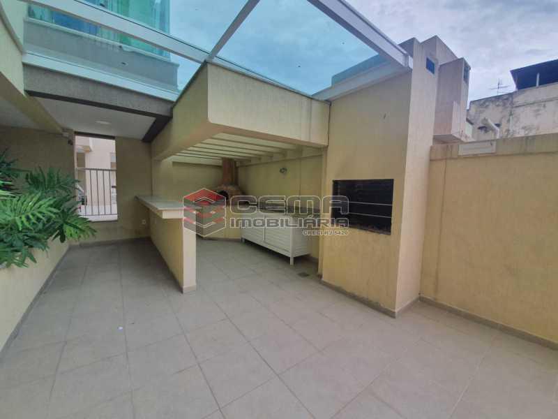 churrasqueira - Excepcional Apartamento 2 quartos com suite, vaga e total infraestrutura próximo ao Engenhão - LAAP25155 - 25