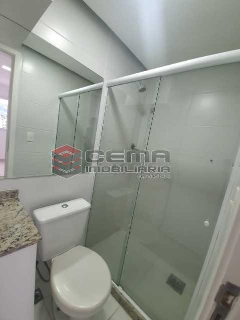 banheiro social - Excepcional Apartamento 2 quartos com suite, vaga e total infraestrutura próximo ao Engenhão - LAAP25155 - 12