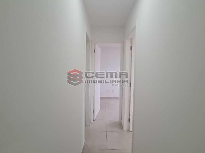 corredor - Excepcional Apartamento 2 quartos com suite, vaga e total infraestrutura próximo ao Engenhão - LAAP25155 - 9