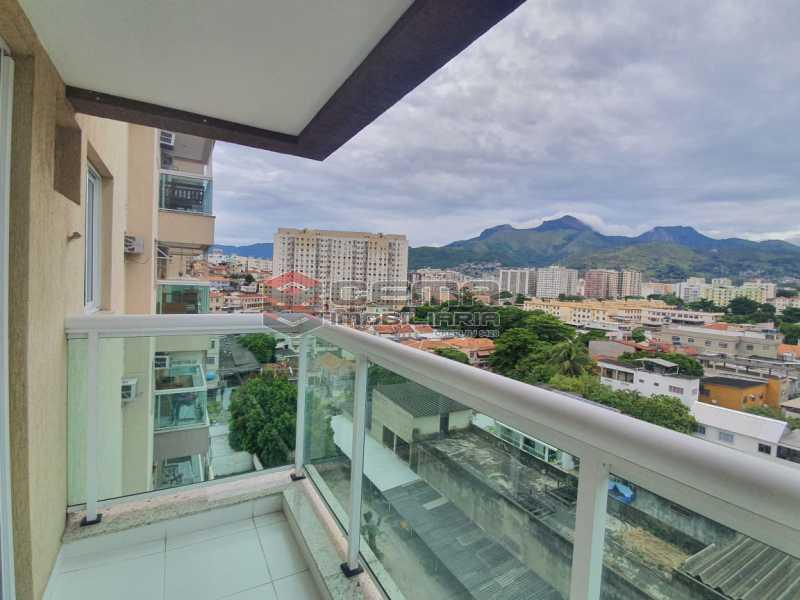 varanda - Excepcional Apartamento 2 quartos com suite, vaga e total infraestrutura próximo ao Engenhão - LAAP25155 - 1