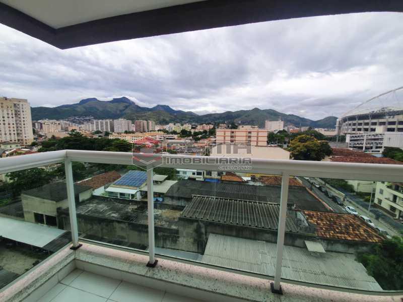 varanda - Excepcional Apartamento 2 quartos com suite, vaga e total infraestrutura próximo ao Engenhão - LAAP25155 - 4