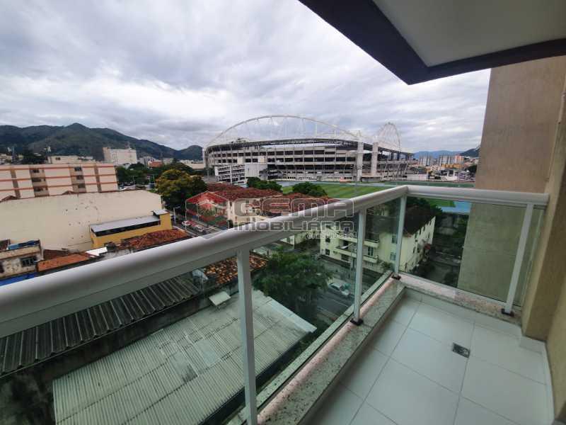 varanda - Excepcional Apartamento 2 quartos com suite, vaga e total infraestrutura próximo ao Engenhão - LAAP25155 - 3
