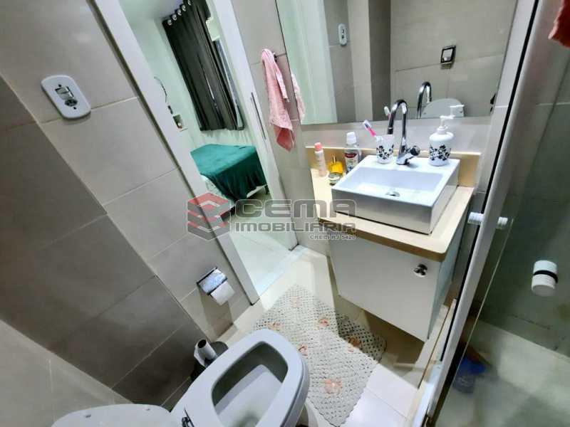 banheiro ang3. - Quarto suíte, sala, cozinha todo reformado em Copacabana - LAAP12885 - 18