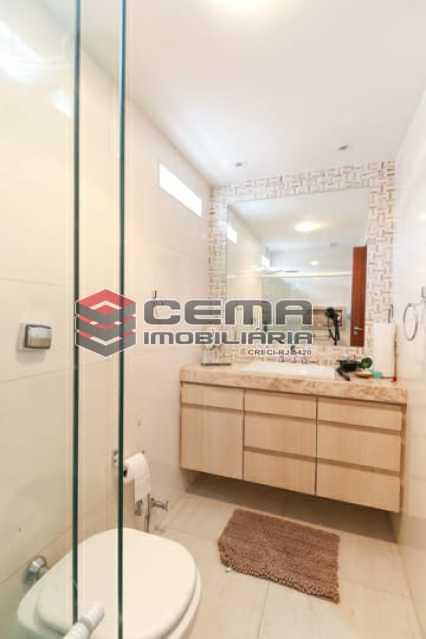 Banheiro Social - Apartamento 4 quartos para alugar Laranjeiras, Zona Sul RJ - R$ 4.000 - LAAP40956 - 12