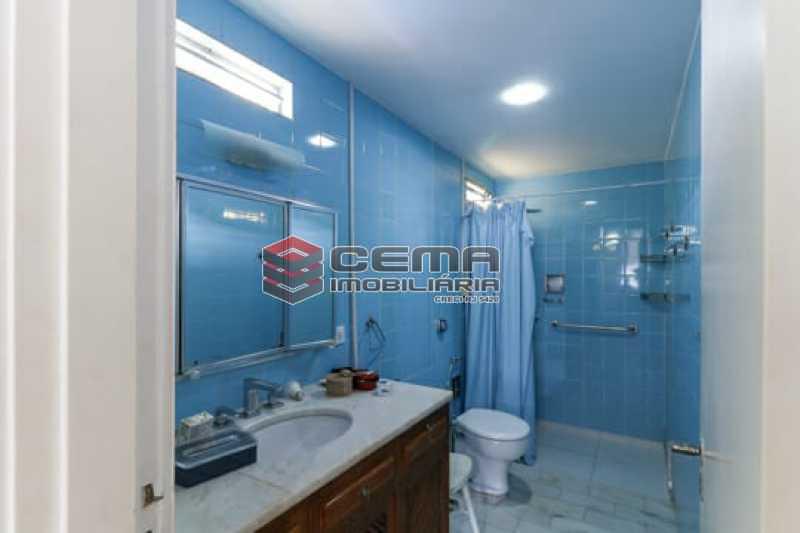Banheiro Suíte - Apartamento 4 quartos para alugar Laranjeiras, Zona Sul RJ - R$ 4.000 - LAAP40956 - 17