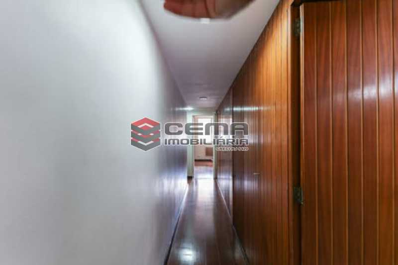 Corredor - Apartamento 4 quartos para alugar Laranjeiras, Zona Sul RJ - R$ 4.000 - LAAP40956 - 14