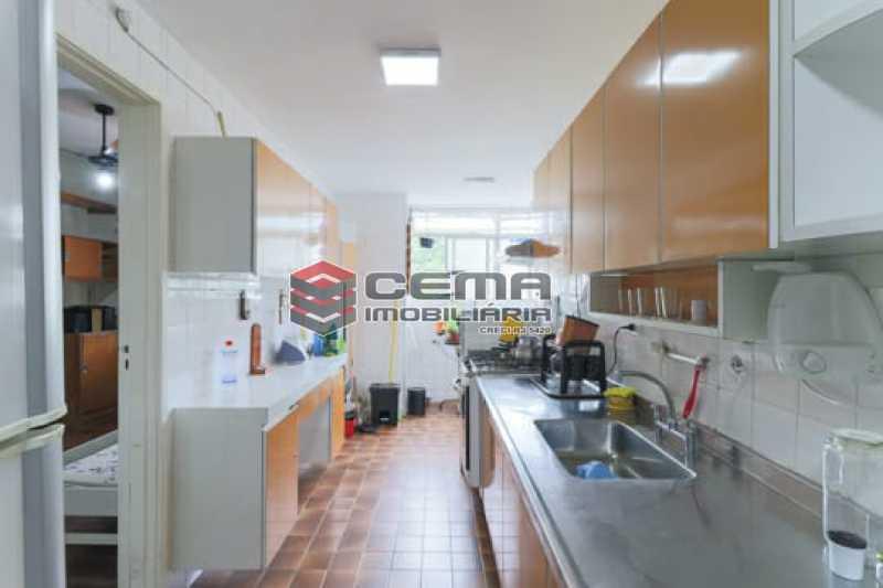 Cozinha - Apartamento 4 quartos para alugar Laranjeiras, Zona Sul RJ - R$ 4.000 - LAAP40956 - 6