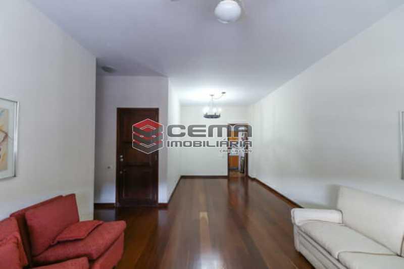 Sala - Apartamento 4 quartos para alugar Laranjeiras, Zona Sul RJ - R$ 4.000 - LAAP40956 - 1