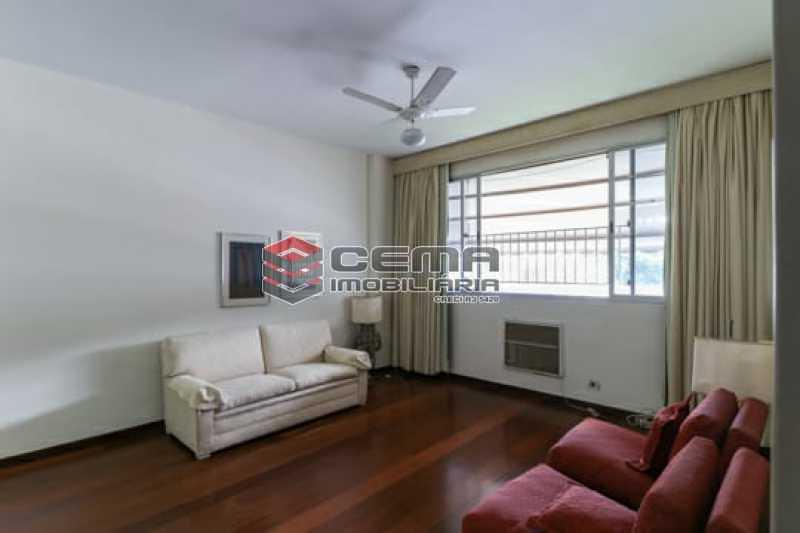 Sala - Apartamento 4 quartos para alugar Laranjeiras, Zona Sul RJ - R$ 4.000 - LAAP40956 - 3