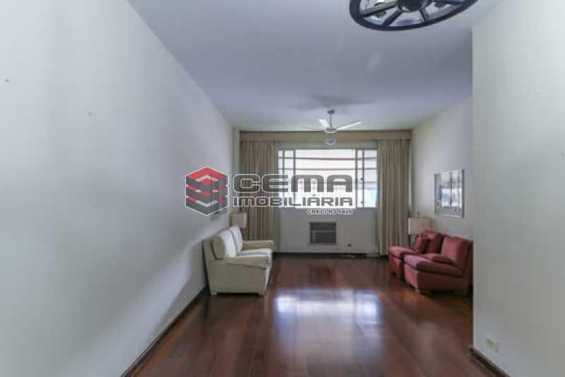 Sala - Apartamento 4 quartos para alugar Laranjeiras, Zona Sul RJ - R$ 4.000 - LAAP40956 - 4