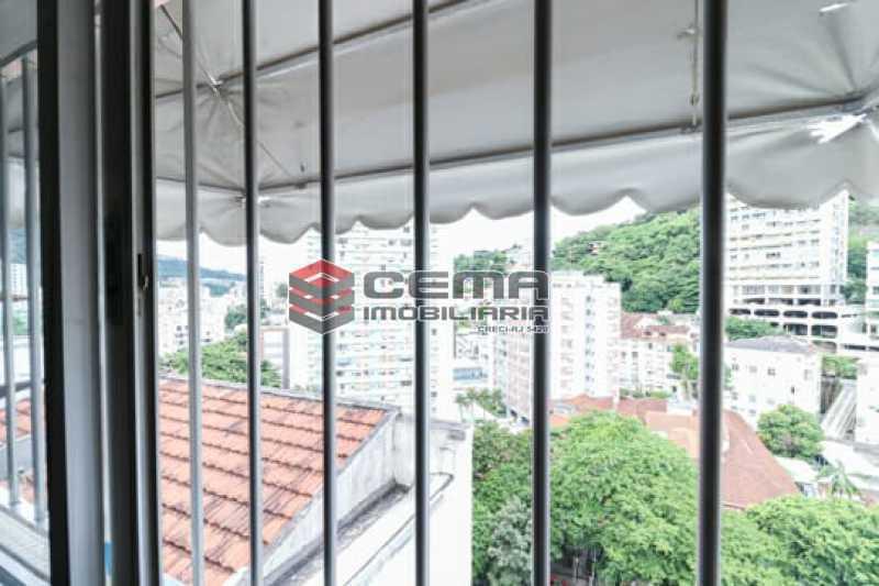 Vista fundos - Apartamento 4 quartos para alugar Laranjeiras, Zona Sul RJ - R$ 4.000 - LAAP40956 - 20