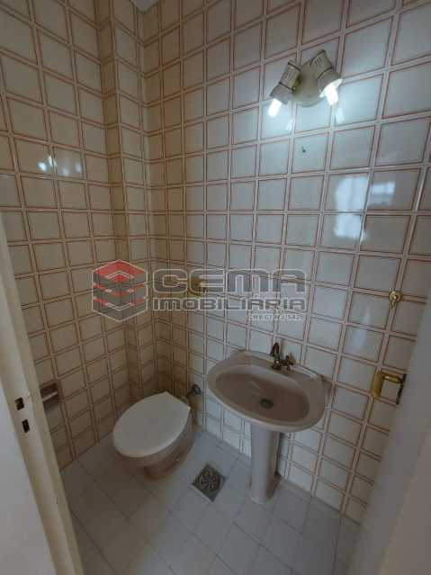 Lavabo - Apartamento 2 quartos à venda Cosme Velho, Zona Sul RJ - R$ 710.000 - LAAP25166 - 23