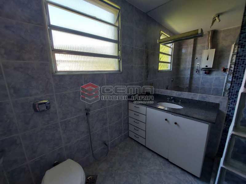 Banheiro - Apartamento 2 quartos à venda Cosme Velho, Zona Sul RJ - R$ 710.000 - LAAP25166 - 22