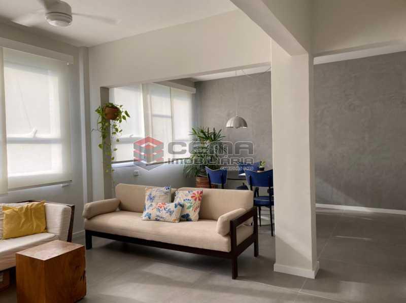 sala - Excelente Apartamento 2 quartos com suite e vaga no Largo dos Leões - Humaita. - LAAP25198 - 5