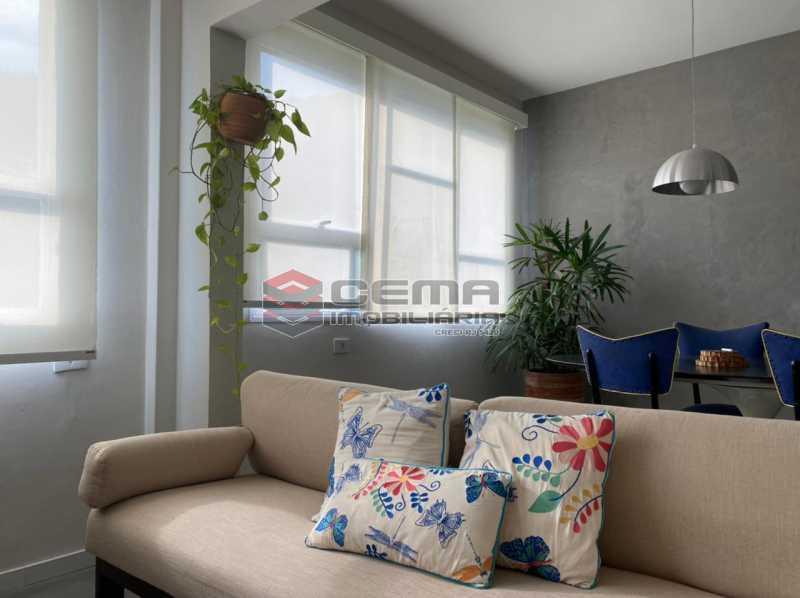 sala - Excelente Apartamento 2 quartos com suite e vaga no Largo dos Leões - Humaita. - LAAP25198 - 6