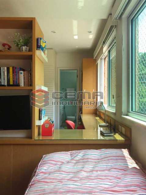 45615d187ef5855e23b5f1b6704662 - Apartamento 4 quartos à venda Cosme Velho, Zona Sul RJ - R$ 2.100.000 - LAAP40960 - 12