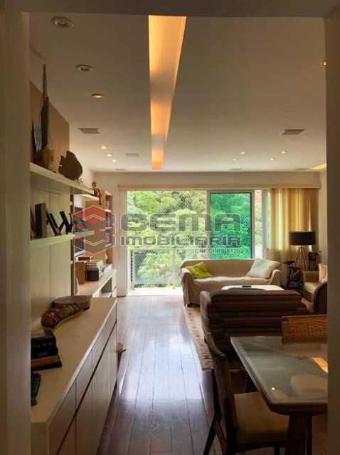 93364e1d96e3128cbf40b5f29f5945 - Apartamento 4 quartos à venda Cosme Velho, Zona Sul RJ - R$ 2.100.000 - LAAP40960 - 1