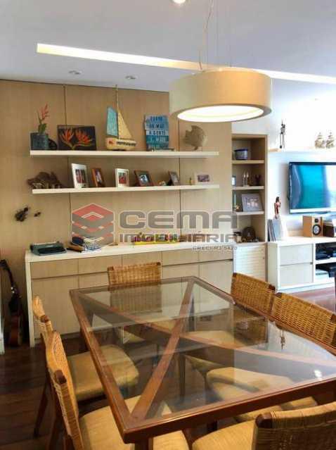 1568913f8a86c6e6b7c3ffff056144 - Apartamento 4 quartos à venda Cosme Velho, Zona Sul RJ - R$ 2.100.000 - LAAP40960 - 4