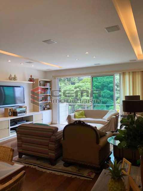 be213974210b4a4c3db0fbe5b36a60 - Apartamento 4 quartos à venda Cosme Velho, Zona Sul RJ - R$ 2.100.000 - LAAP40960 - 3