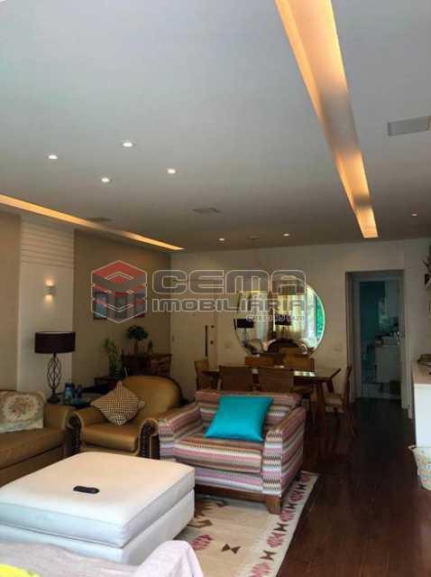 dce9639a3ba554db46e3cd7d3486aa - Apartamento 4 quartos à venda Cosme Velho, Zona Sul RJ - R$ 2.100.000 - LAAP40960 - 6