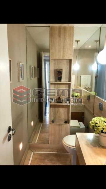 1 - Apartamento 4 quartos à venda Cosme Velho, Zona Sul RJ - R$ 2.100.000 - LAAP40960 - 31
