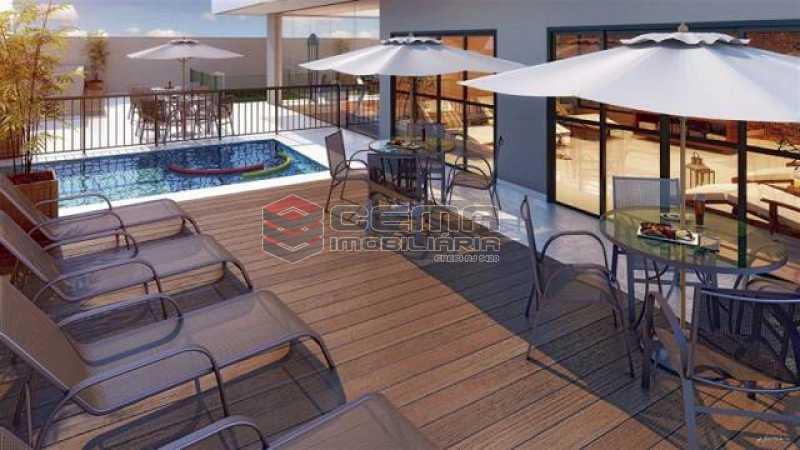 2 - Cobertura 4 quartos à venda Botafogo, Zona Sul RJ - R$ 2.700.000 - LACO40154 - 4