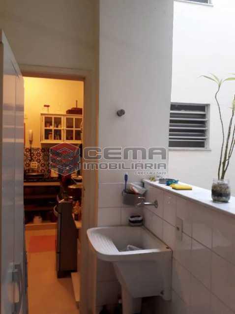 área serviço - Apartamento 2 quartos à venda Cosme Velho, Zona Sul RJ - R$ 930.000 - LAAP25201 - 17