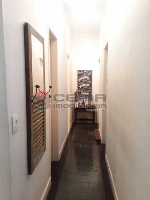 circulação - Apartamento 2 quartos à venda Cosme Velho, Zona Sul RJ - R$ 930.000 - LAAP25201 - 10