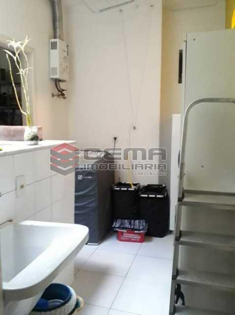 área serviço - Apartamento 2 quartos à venda Cosme Velho, Zona Sul RJ - R$ 930.000 - LAAP25201 - 18